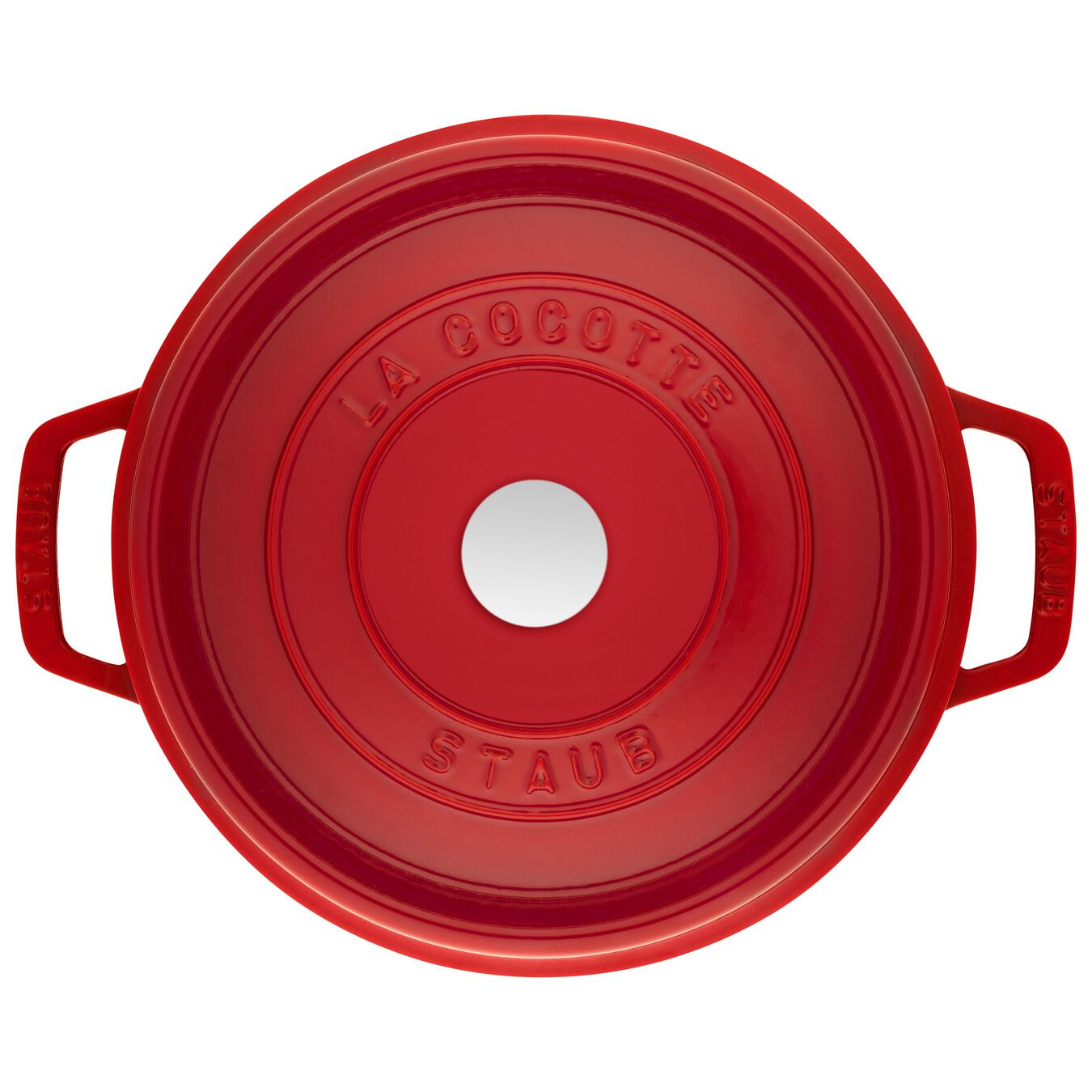 4.8 l round Cocotte, cherry,,large 3