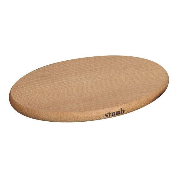 Nihale Mıknatıslı, 29 cm x 20 cm | Kahverengi | Kayın Ağacı | Oval,,large