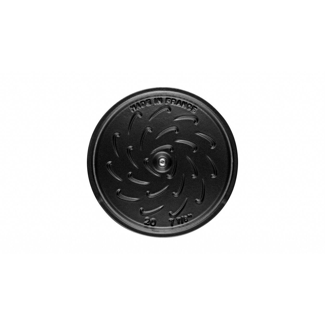 2.25 l Cast iron round Saute pan, Grenadine-Red,,large 9