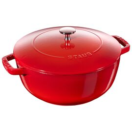 Staub Cast Iron, 3.75-qt Essential French Oven - Cherry