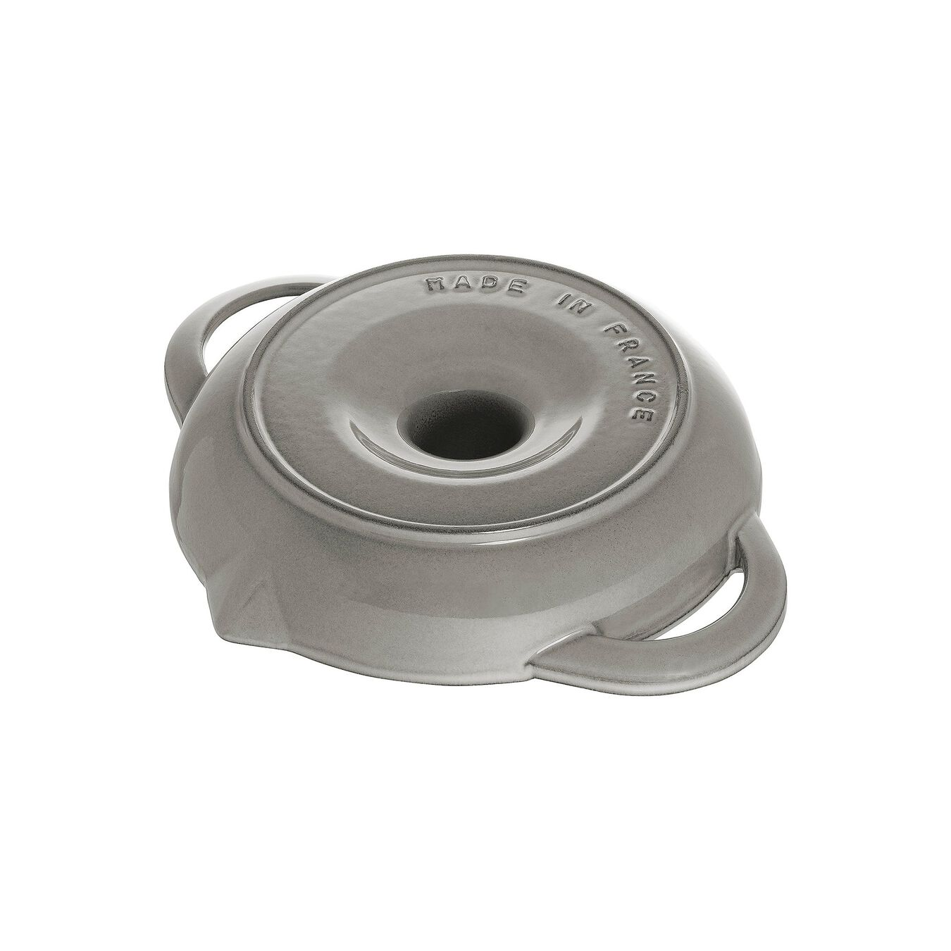 24 cm Cast iron round Rôtissoire, Graphite-Grey,,large 2