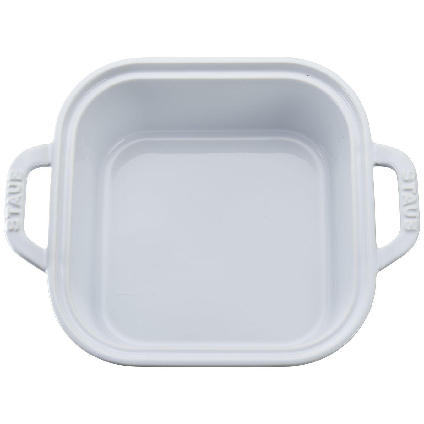 4-pc Baking Dish Set - White,,large 6