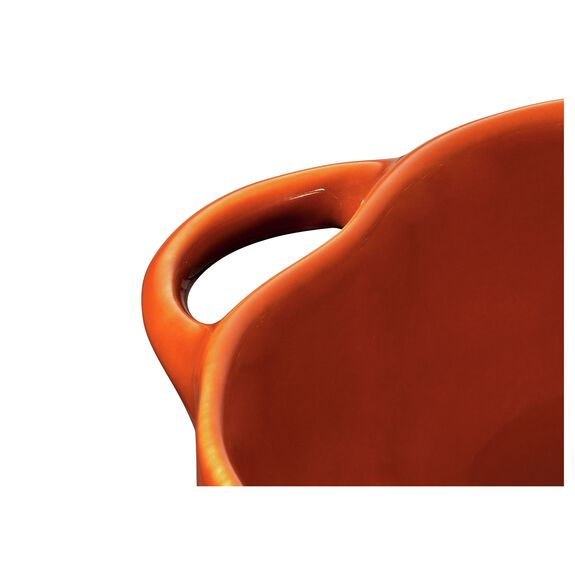 0.5-qt Pumpkin Cocotte, Burnt Orange,,large 2