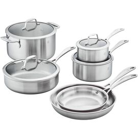 ZWILLING Spirit Stainless, 10-pc, 18/10 Stainless Steel, Pots and pans set