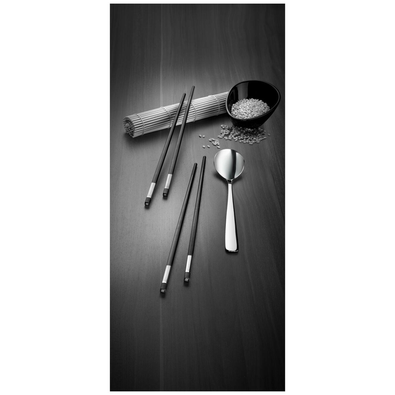 Chopstick Set 10-tlg, mattiert/poliert,,large 3
