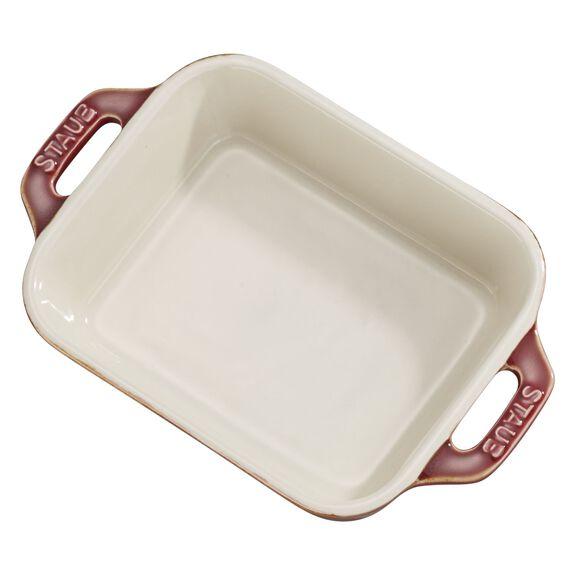 5.5-inch x 4-inch Rectangular Baking Dish - White,,large