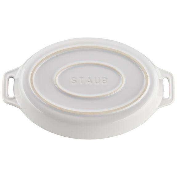 2-pc Oval Baking Dish Set, White, , large 6
