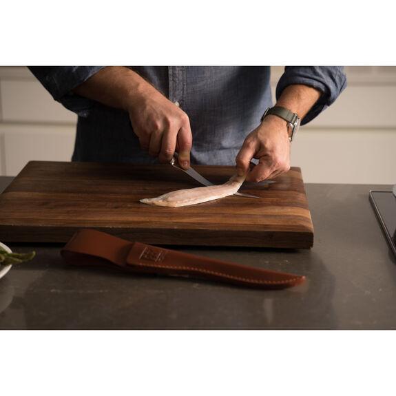 Fish Fillet Knife and Leather Sheath Set,,large 3