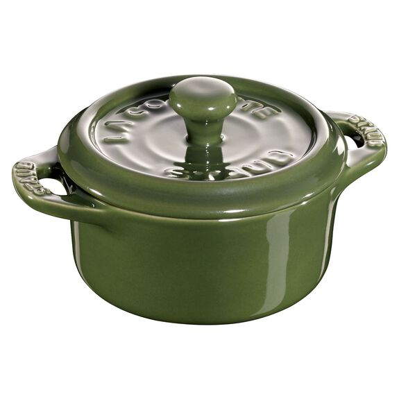 3-pc Mini Round Cocotte Set - Basil,,large