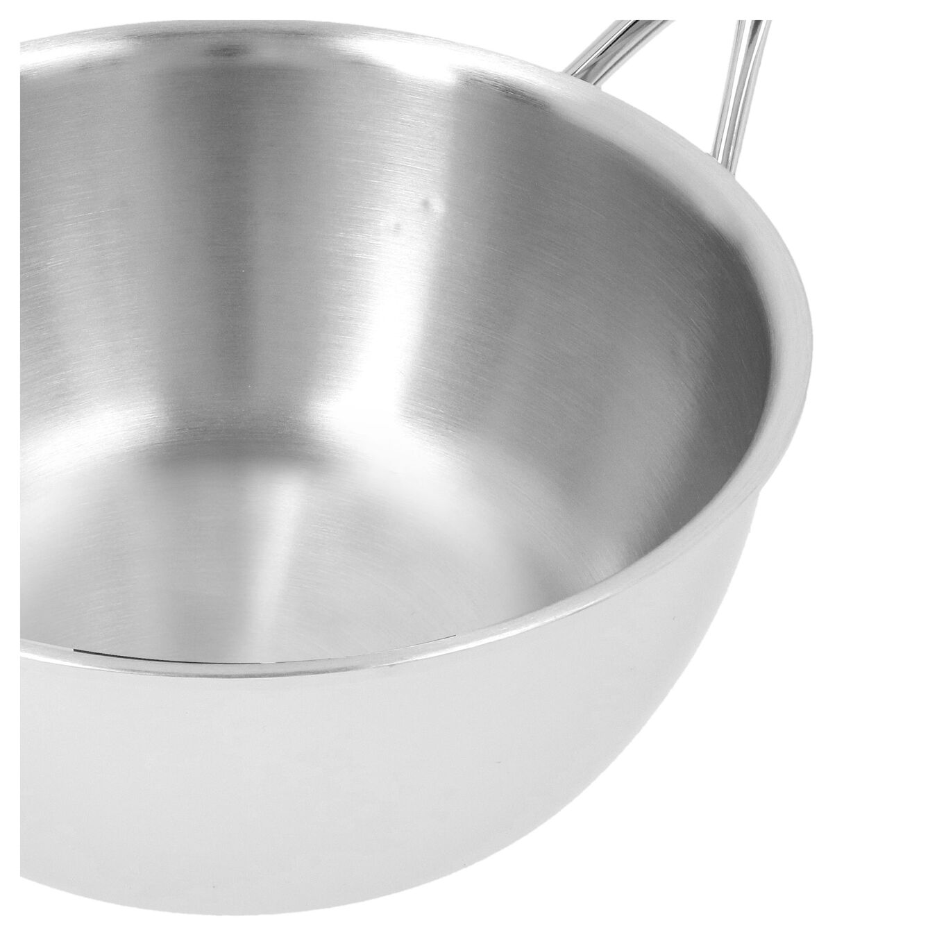 Sauteuse conique 22 cm, Inox 18/10,,large 5