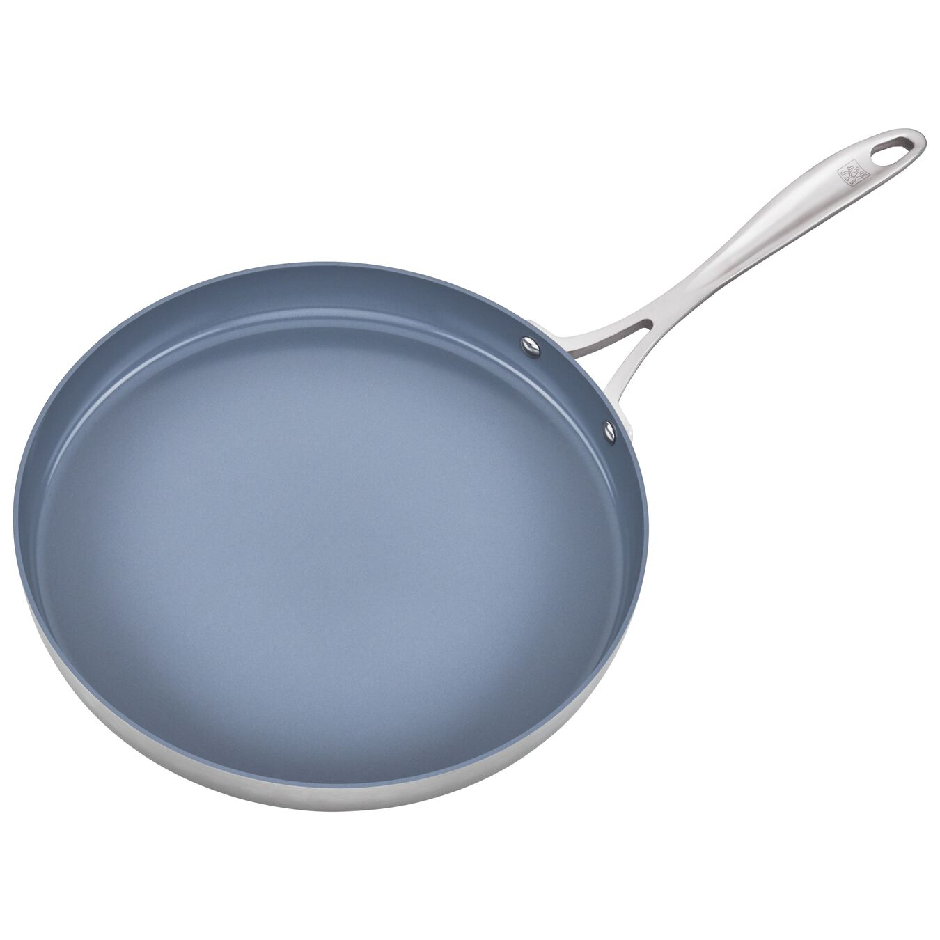 3-ply 12-inch Stainless Steel Ceramic Nonstick Griddle,,large 2