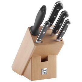 ZWILLING Professional S, Bloc de couteaux 6-pcs, Hêtre