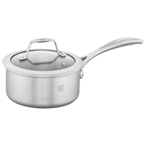 1-qt 18/10 Stainless Steel Saucepan,,large