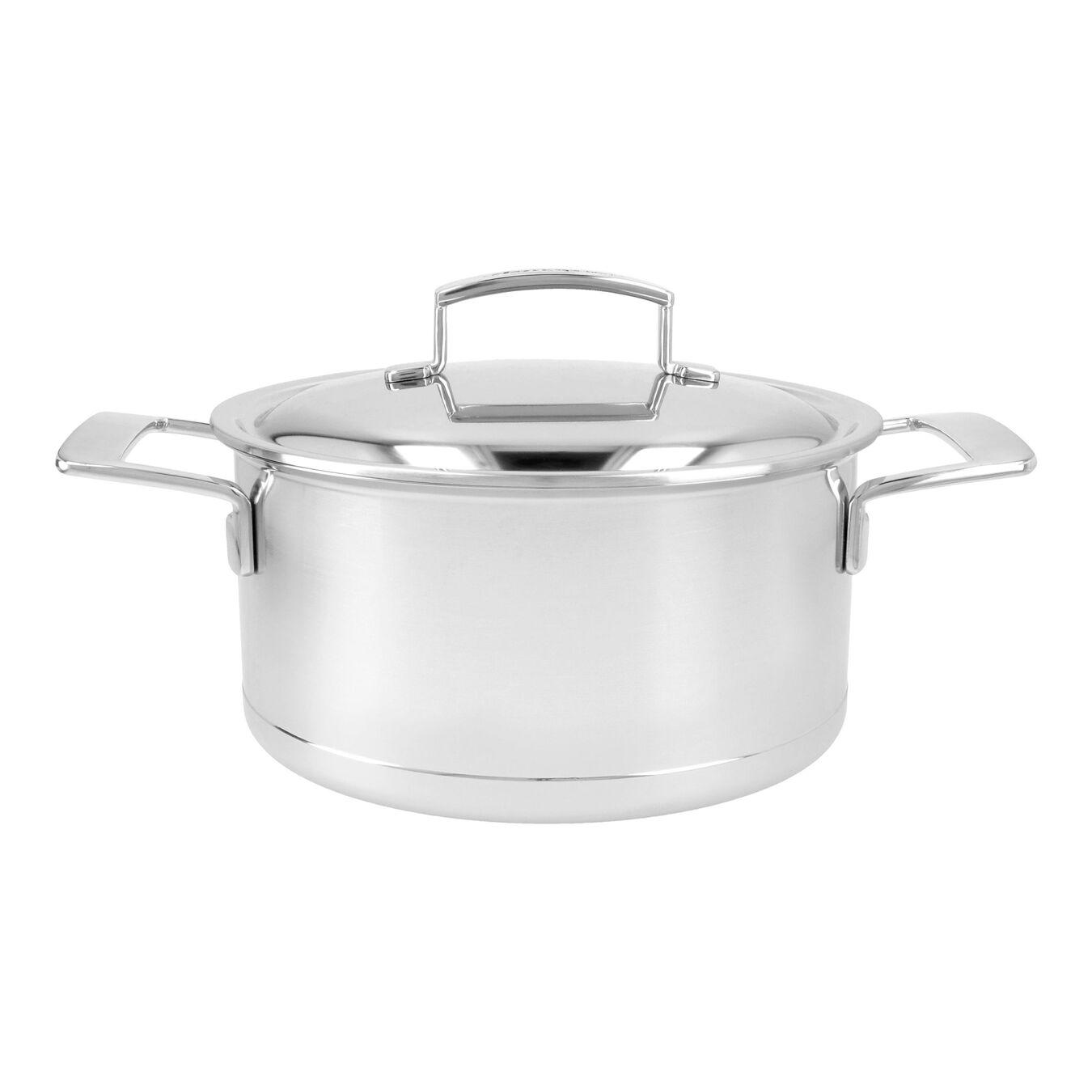 Kookpot met dubbelwandig deksel 22 cm / 4 l,,large 1
