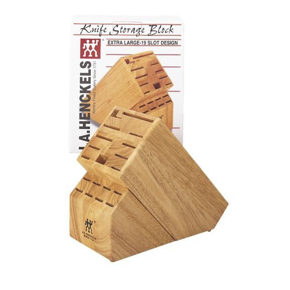 20-slot Hardwood Knife Block,,large