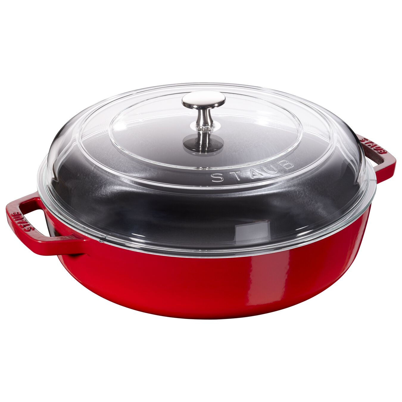Sauteuse with glass lid 26 cm,,large 1