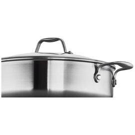 ZWILLING Spirit Stainless, 3-ply 5-qt Stainless Steel Saute Pan