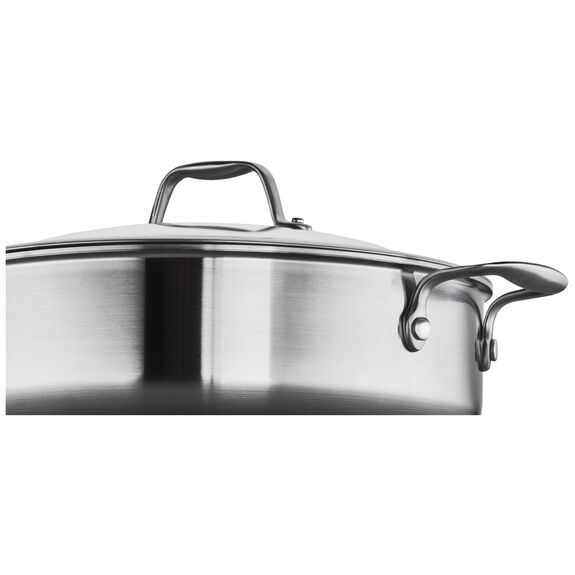 3-ply 5-qt Stainless Steel Saute Pan,,large