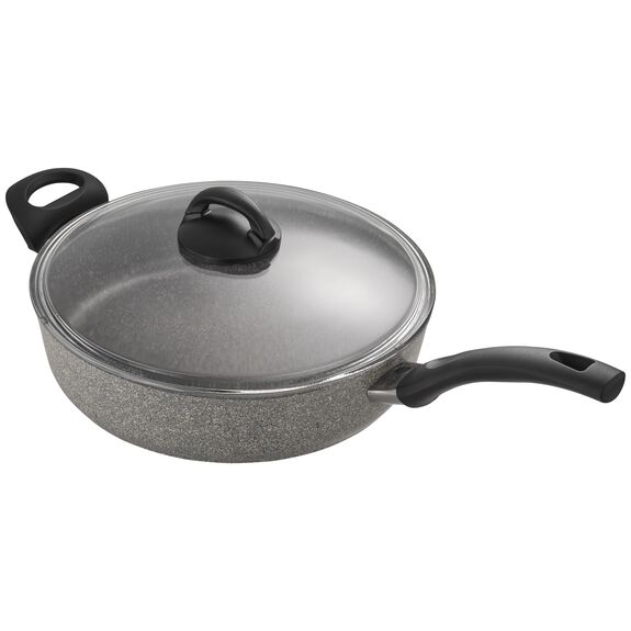 3.8-qt Forged Aluminum Nonstick Saute Pan with Lid, , large 4