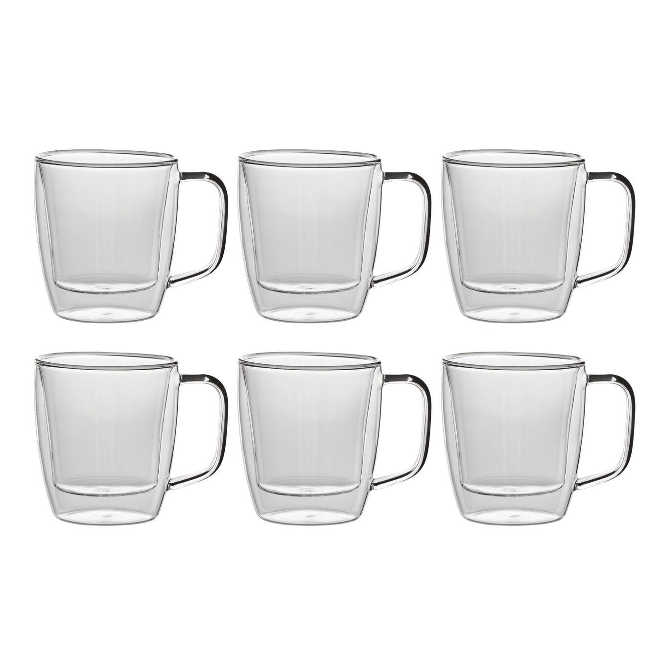 6 Piece Coffee glass set,,large 1