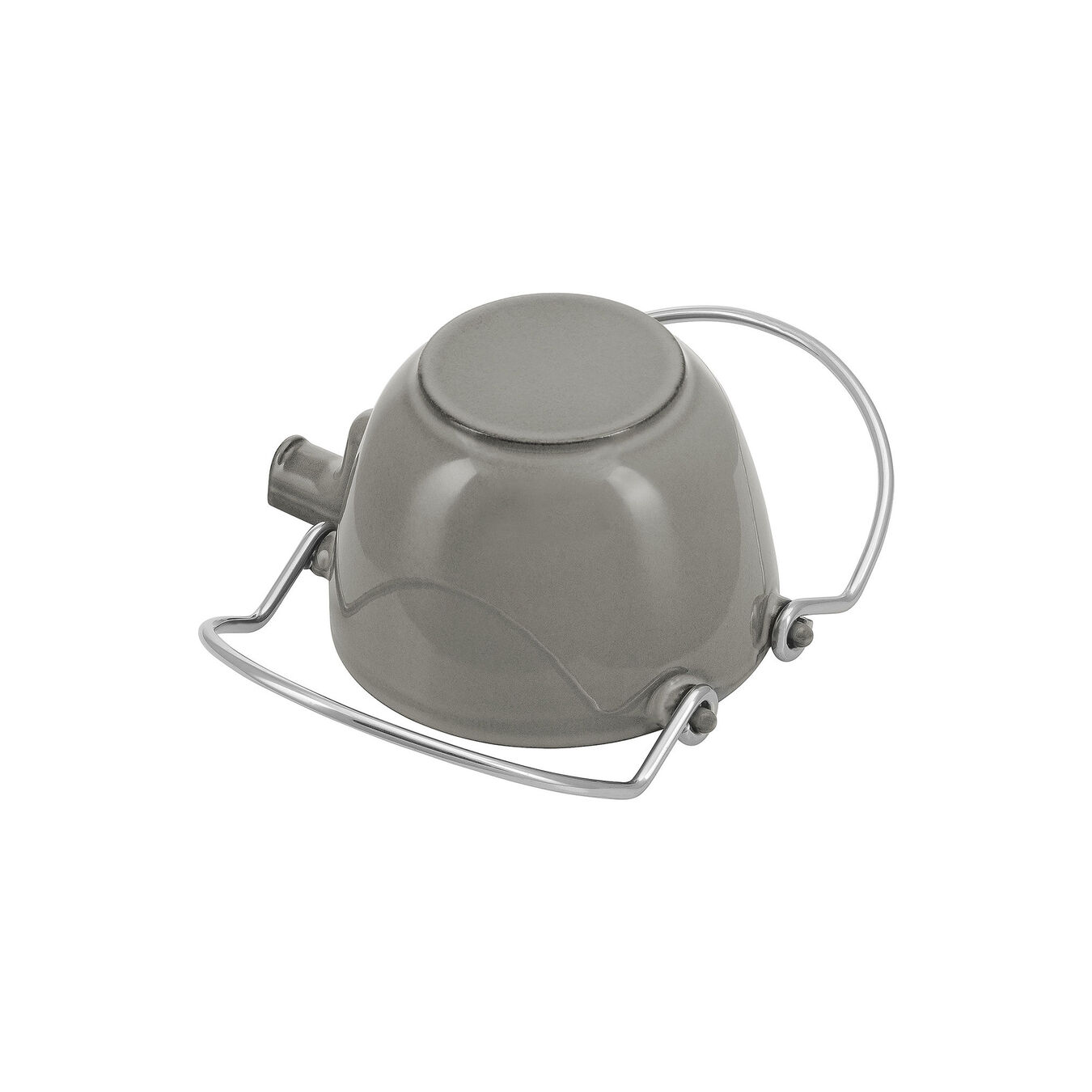 1.25 l Cast iron Tea pot, Graphite-Grey,,large 3