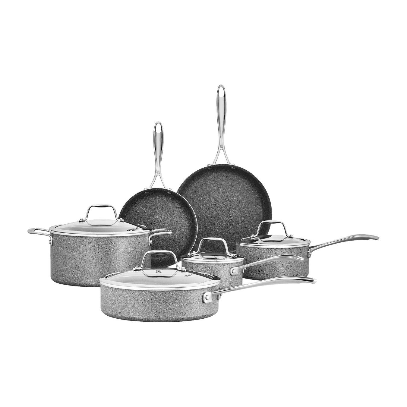 Pot set, 10 Piece | Aluminum,,large 1