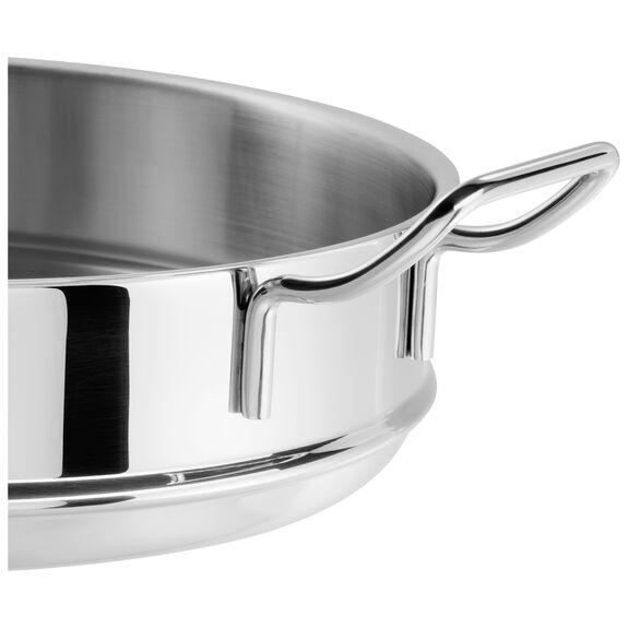 Buharda Pişirme Aparatı, Yuvarlak | 32 cm | Metalik Gri,,large 3