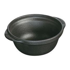 Staub LA COCOTTE, Kase, 12 cm | Siyah | Döküm Demir | Yuvarlak