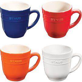 Staub Ceramique, Dessert cup set, 4 Piece   Ceramic   round   Ceramic