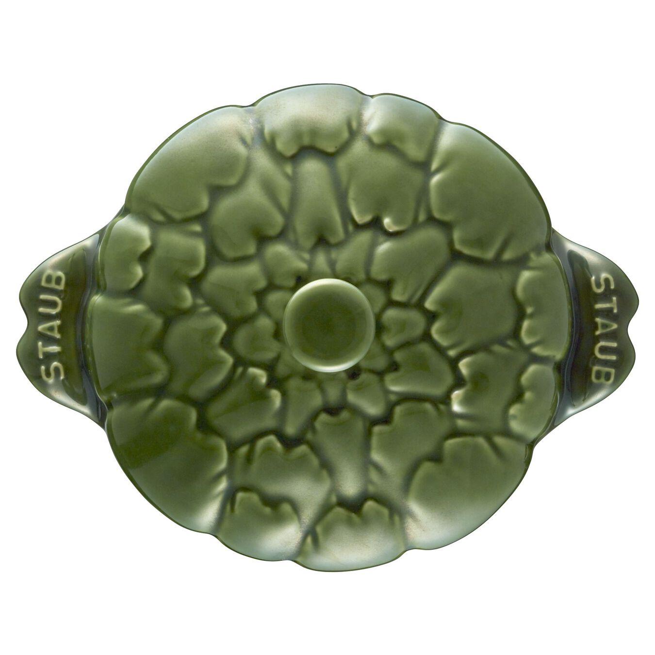 Ceramic Cocotte | Fesleğen | 13 cm | 450 ml | Enginar,,large 11