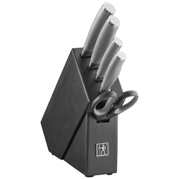 6-pc Knife block set ,,large 2