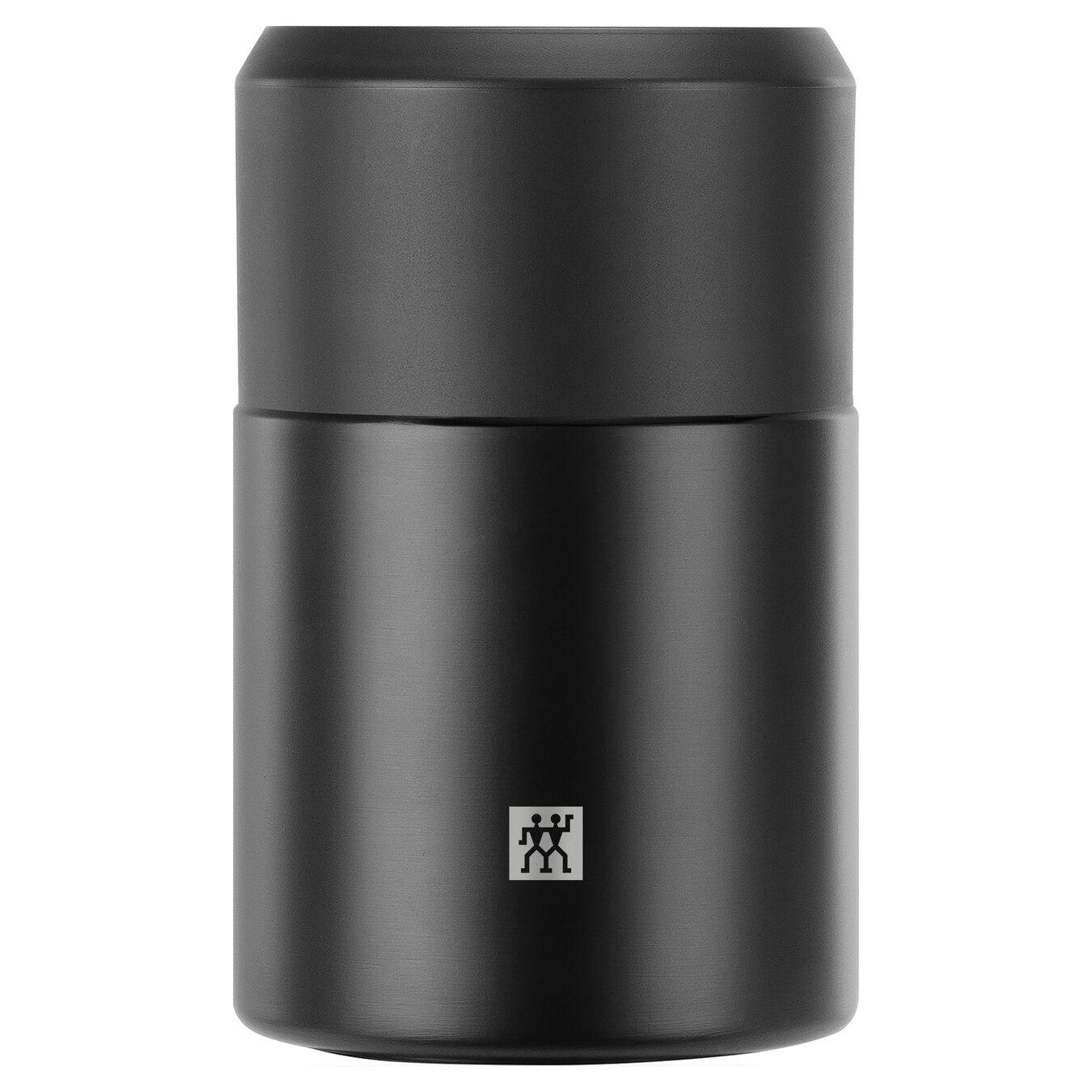 Recipiente alimentare - 700 ml, acciaio inox, nero,,large 1