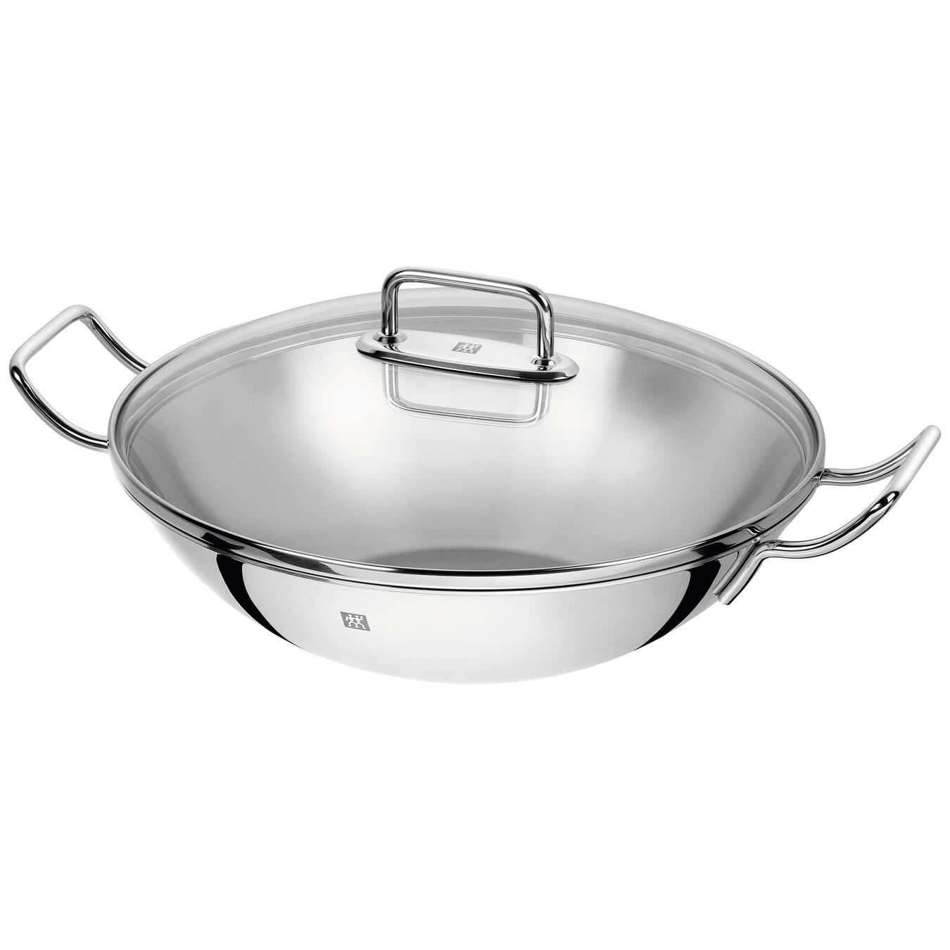 32 cm / 12.5 inch 18/10 Stainless Steel Wok With Steamer,,large 2