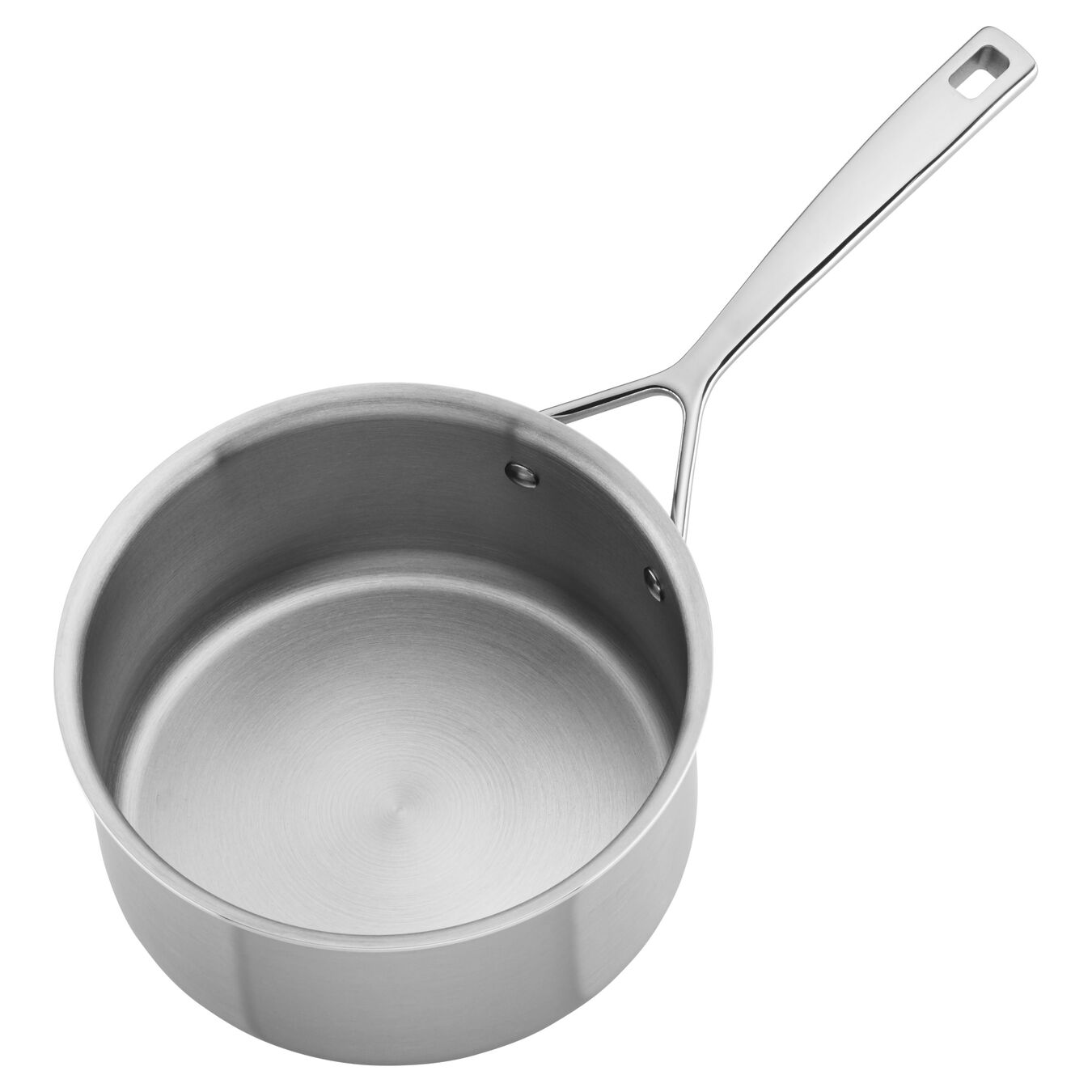 1.4 l round Sauce pan with lid, silver,,large 4