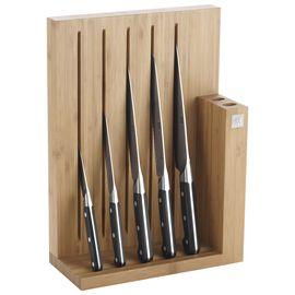 ZWILLING PRO, Blok Bıçak Seti, 6-parça | Siyah | Bambu