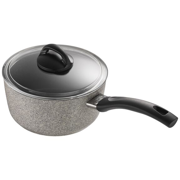 2.8-qt Forged Aluminum Nonstick Saucepan with Lid, , large 4