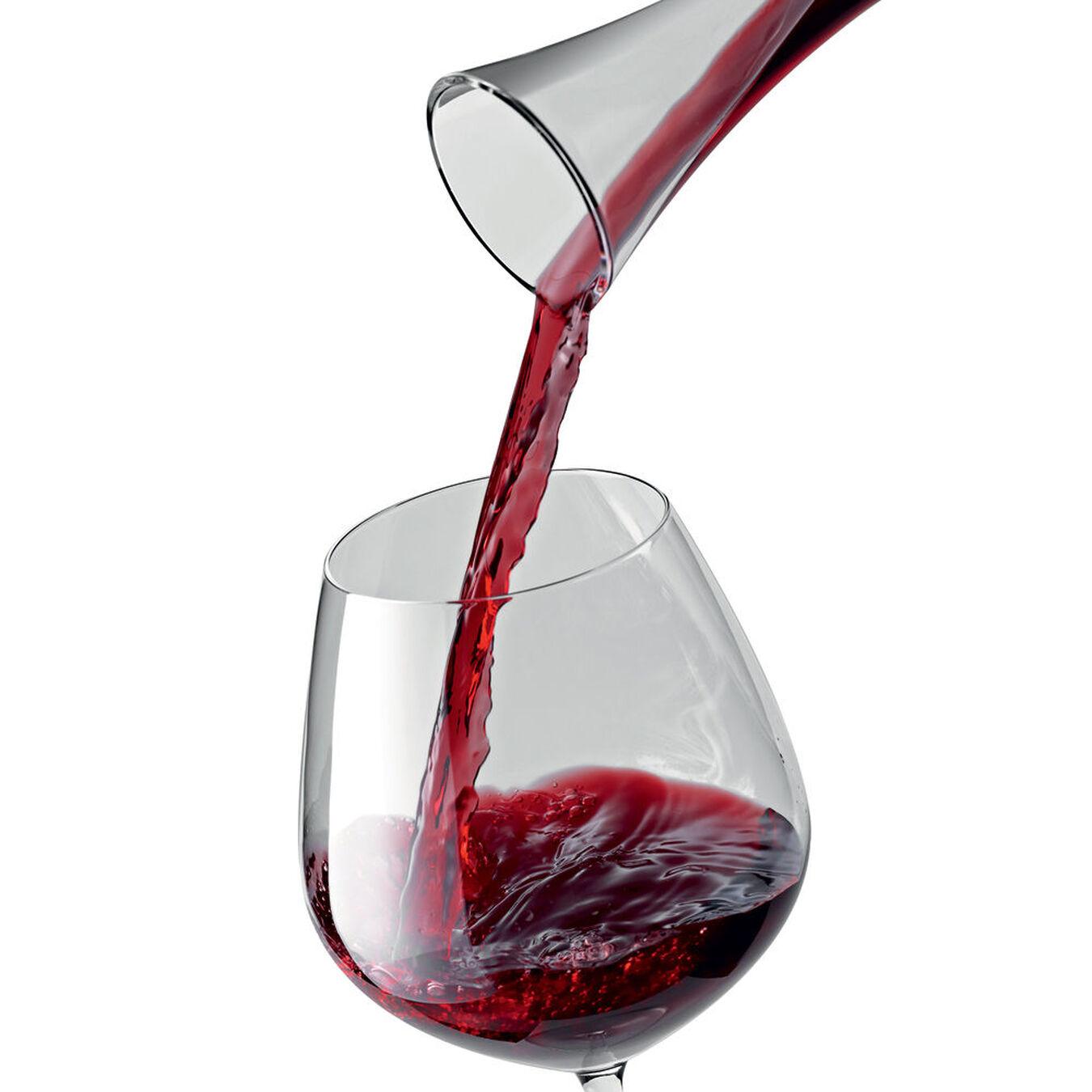 6 Piece Burgundy Large Glass set,,large 2