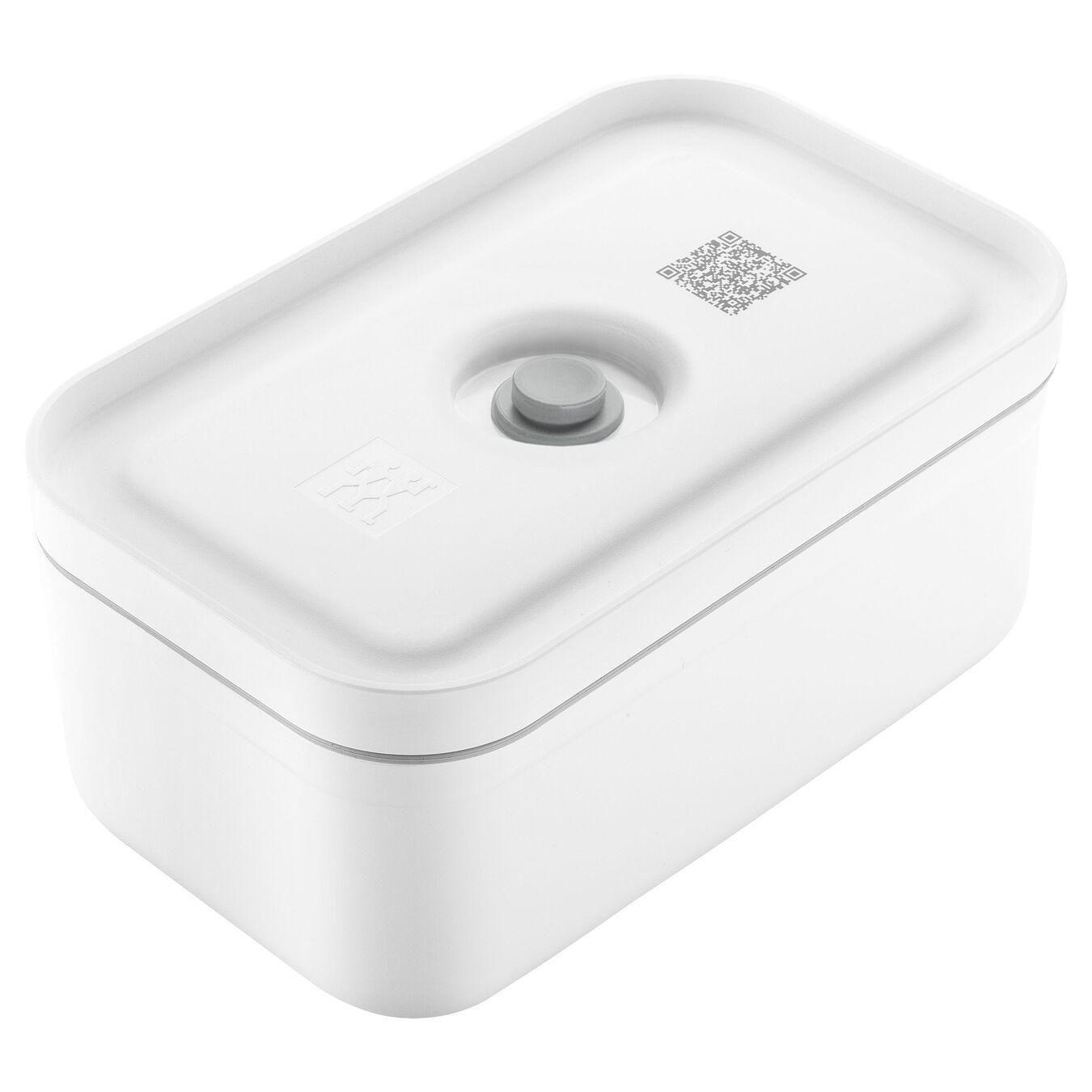 Vakumlu Yemek Kabı, M, Plastik, Beyaz,,large 1