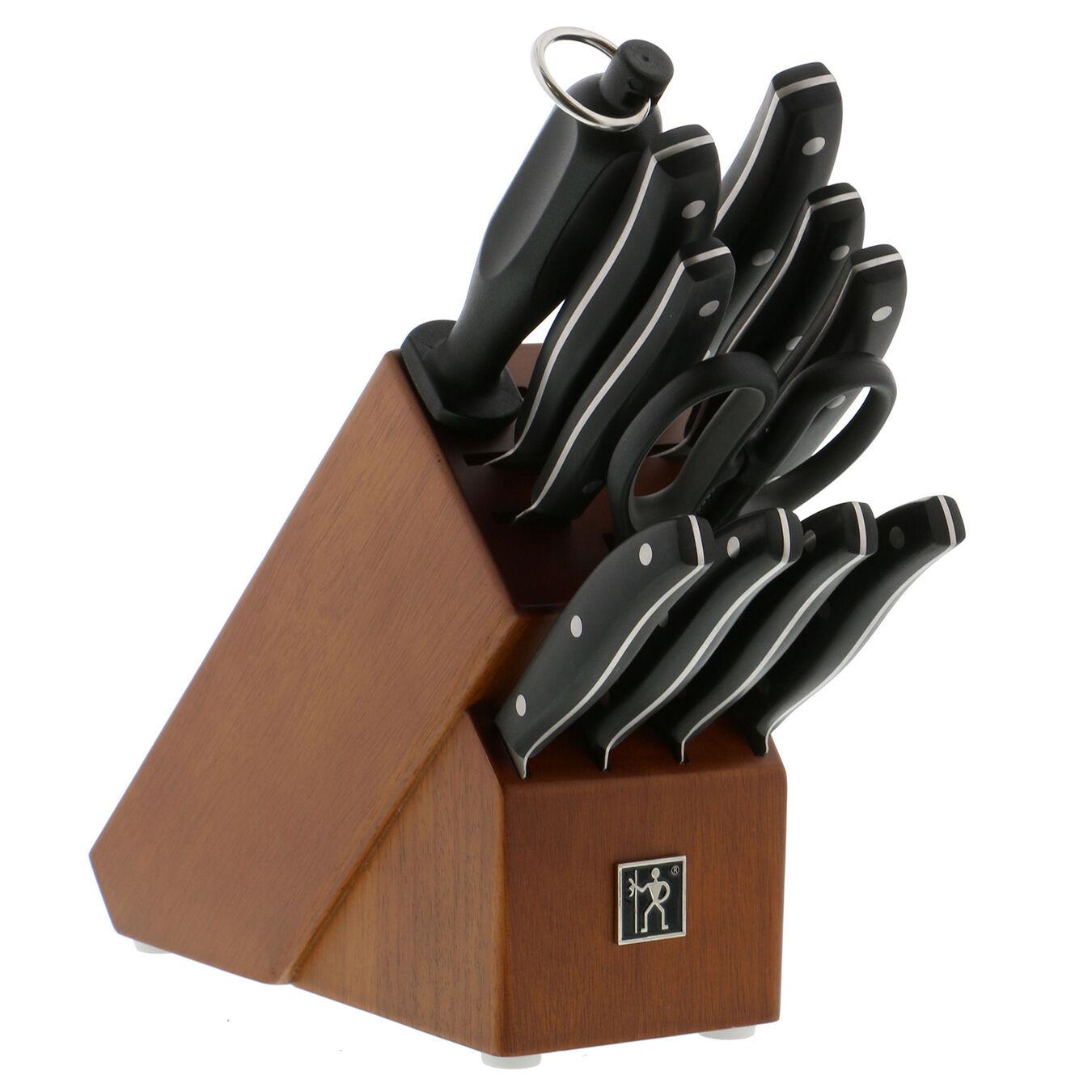 12-pc Knife Block Set - Harwood,,large 1