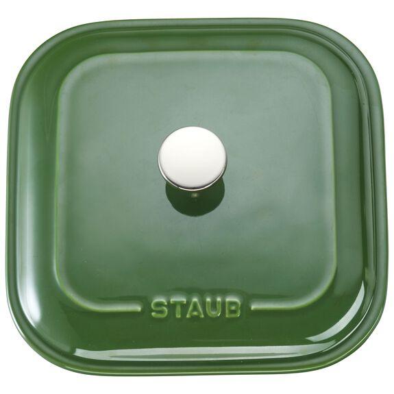 Ceramic Square Covered Baking Dish, Basil,,large 3
