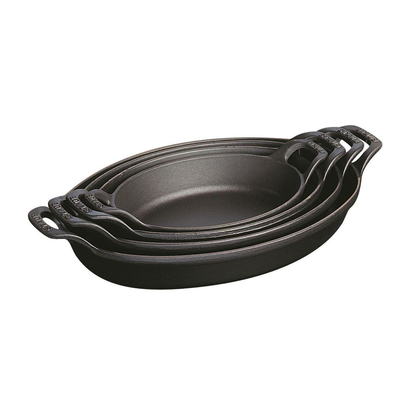 Travessa oval 21 cm x 15 cm, Ferro fundido,,large 3