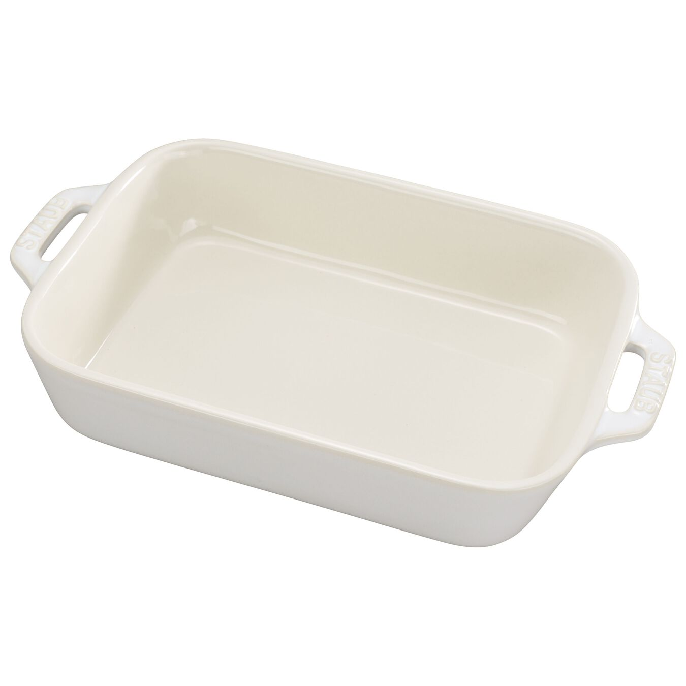 7.5-inch x 6-inch Rectangular Baking Dish - Rustic Ivory,,large 1