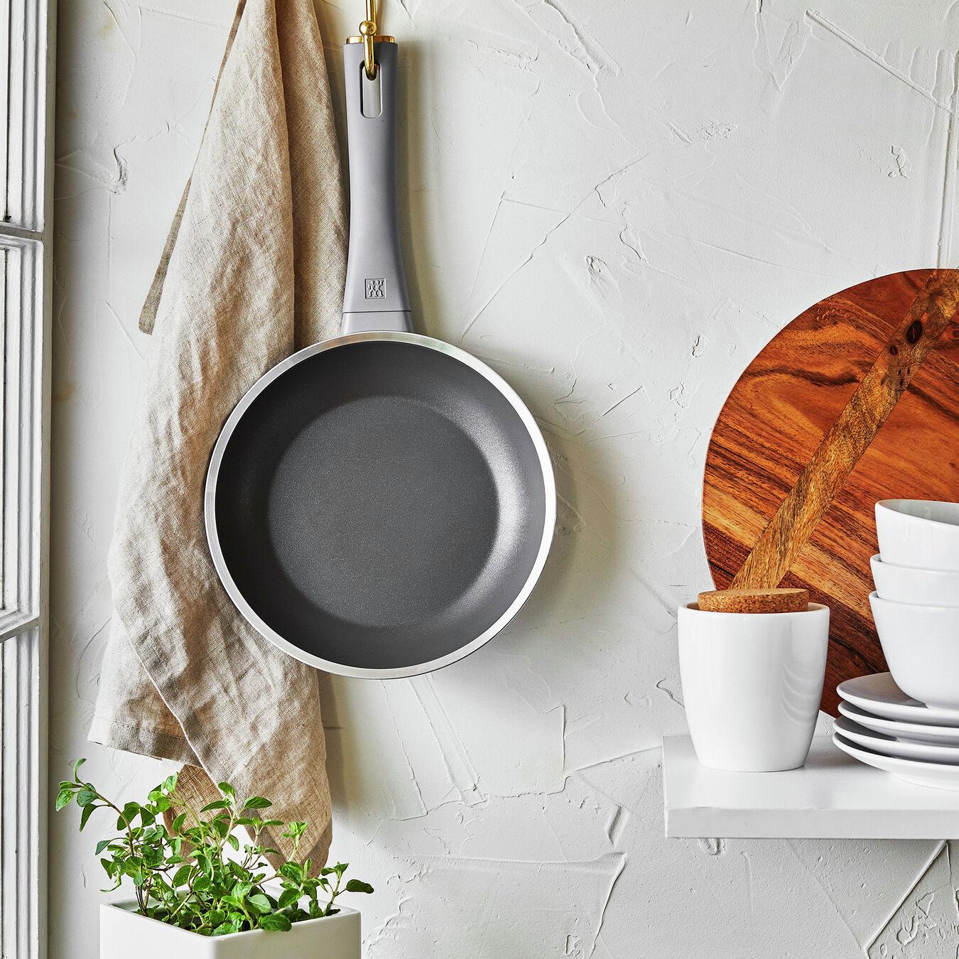 8-inch, Aluminium, Non-stick, Frying pan,,large 6