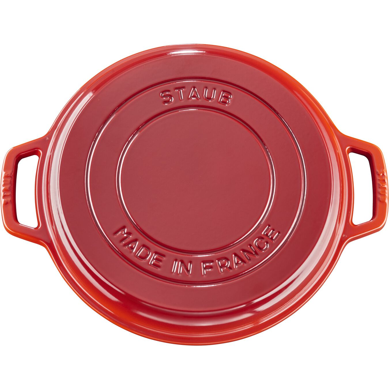 6 l round Braise + Grill, cherry - Visual Imperfections,,large 6