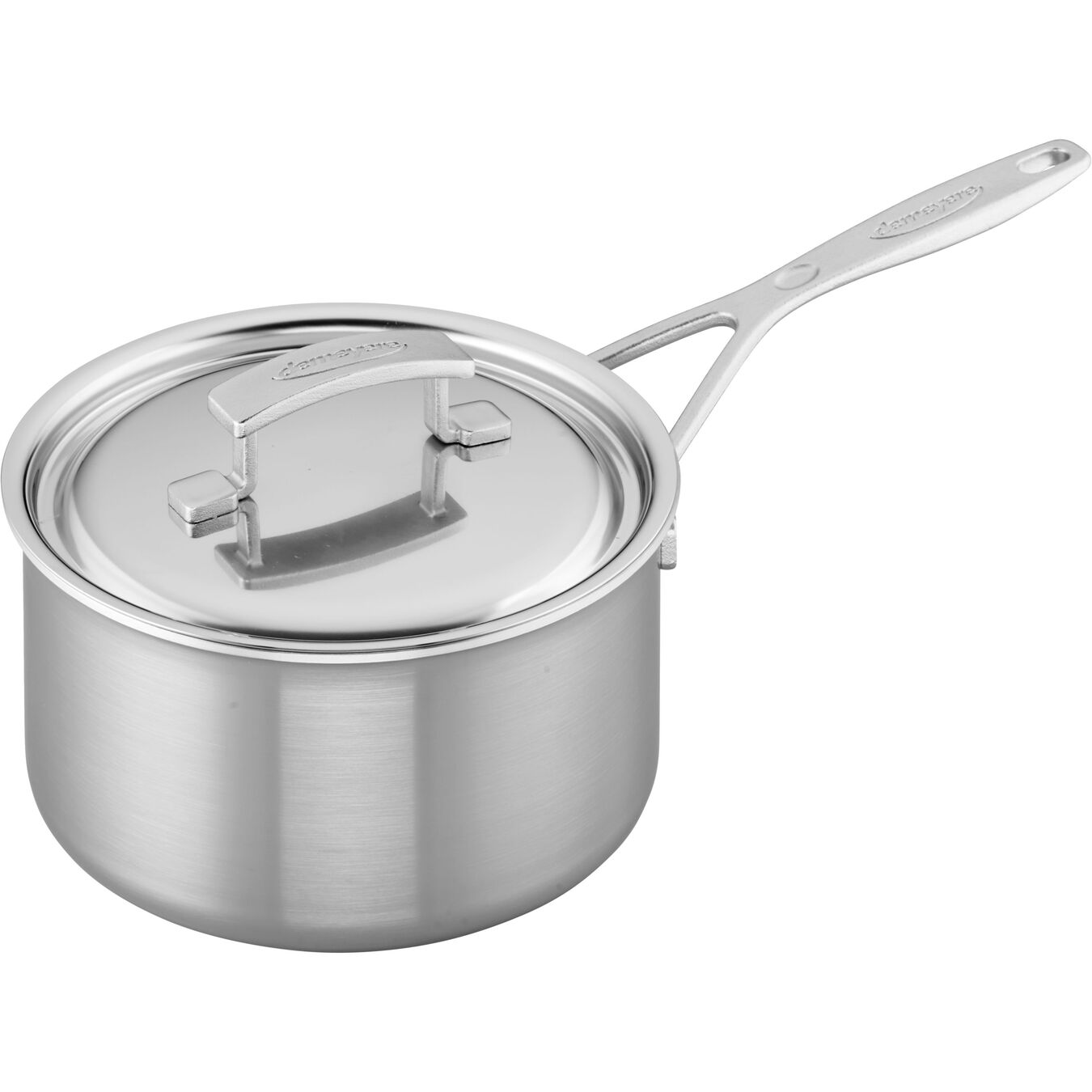 3-qt Stainless Steel Saucepan,,large 1