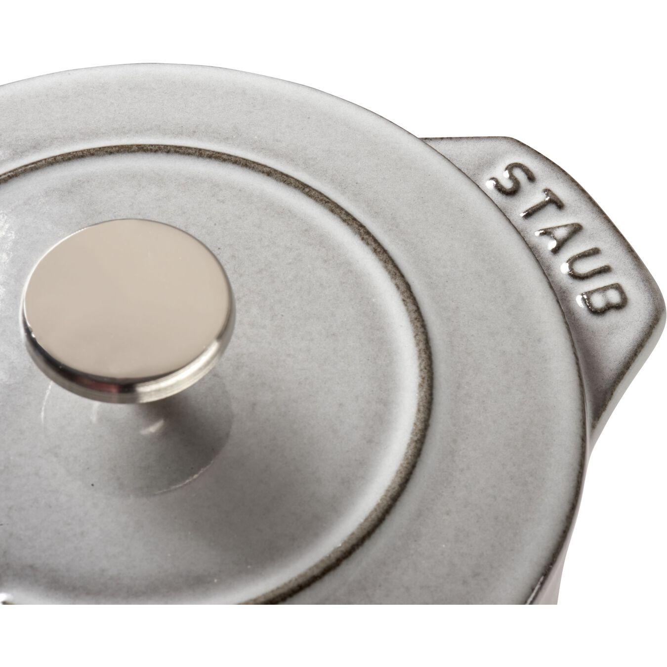 750 ml Cast iron round Cocotte à riz, Graphite-Grey,,large 5