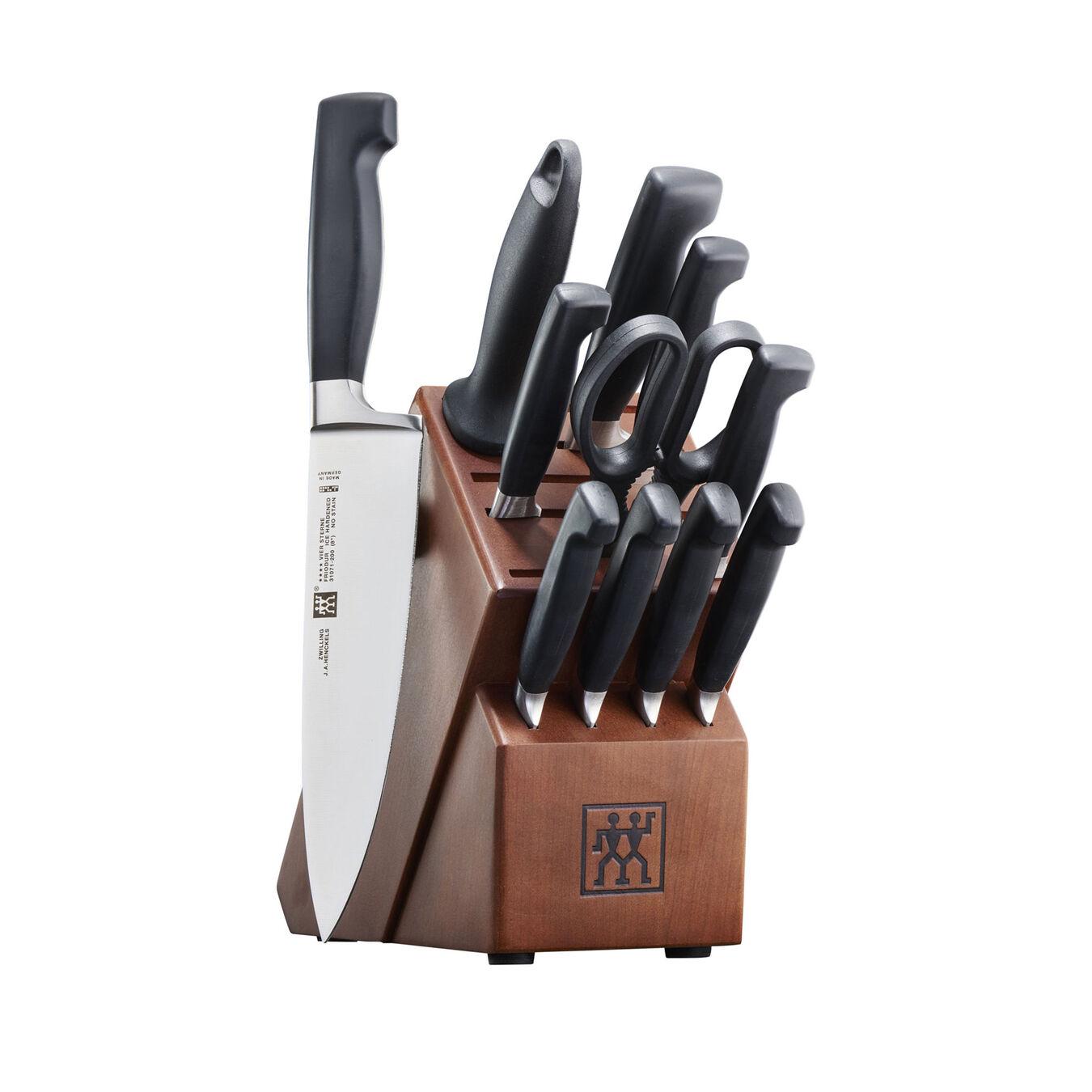 13-pc, Knife block set, Walnut,,large 1