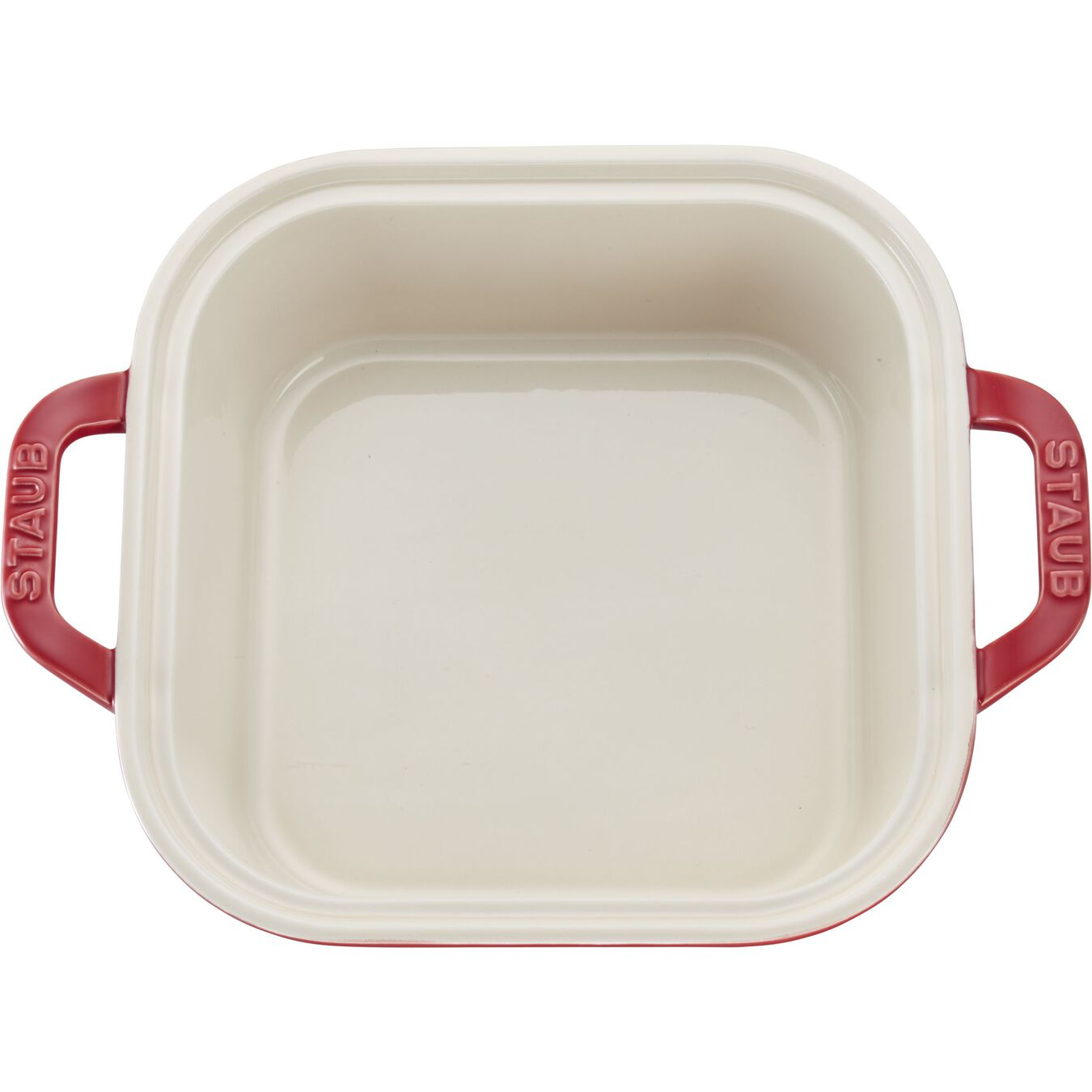 9-inch X 9-inch Square Covered Baking Dish - White,,large 6