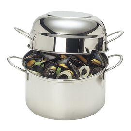 Demeyere RESTO, 101.5-oz, 18/10 Stainless Steel, Mussel pot, silver