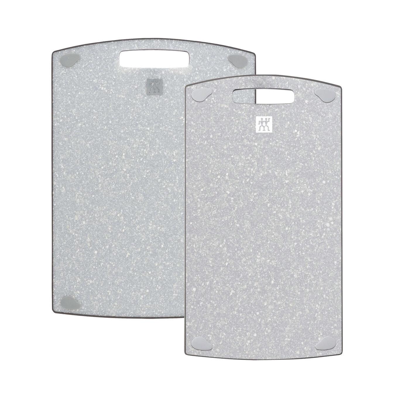 2 pc. Cutting board set, Plastic | 36 cm x 20 cm & 37 cm x 27 cm 36 cm x 20 cm Plastic,,large 3
